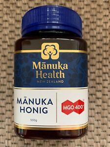 Manuka-Honig MGO 400+ 500g, Manukahonig OVP NEU mànuka health