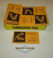 36 NEW RATTLESNAKE EGGS PRANK GAG GIFT ENVELOPES RATTLE SNAKE EGG JOKE SCARE