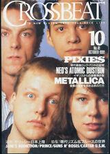 Crossbeat Japan Oct/1991 Pixies Ned's Atomic Dustbin Metallica Prince
