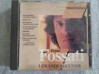 FOSSATI IVANO - I GRANDI SUCCESSI (MUSICATUA, TIMBRO SIAE ROSSO). CD
