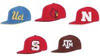 New NCAA adidas College Flat Visor Flex Hat Cap