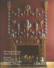 CHRISTIE'S Amsterdam CHINESE EXPORT PORCELAIN Vung Tau Cargo Shipwreck Catalog