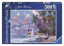 Ravensburger 14341. Classes de surf avec Mickey. Puzzle de 500 pièces. 49x36cm