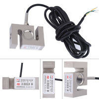 S TYPE High Precision Metal Load Cell Scale Weighting Sensor 1000kg/2204lb