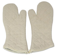Terry Oven Mitts Commercial Grade 2-Pack Color Cream