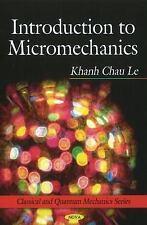 Introduction to Micromechanics (Classical and Quantum Mechanics)-ExLibrary