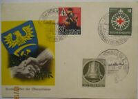 Vertreibung Schlesien, Bundestreffen der Schlesier Nürnberg 1953 (4863)