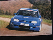 Card VW Golf Mk4 Kit car Rally team Hans Weijs - John Raven 2001