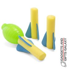 SQUEEZE HAND PUMP FOAM ROCKET SHOOTER Toys gifts games & gadgets