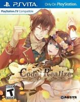 Code: Realize Future Blessings PSV New PlayStation Vita - Brand New