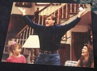 DAVE COULIER SIGNED 8X10 PHOTO FULL HOUSE UNCLE JOEY C W/COA+PROOF RARE WOW