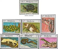 Laos 773-779 (complète edition) neuf avec gomme originale 1984 reptiles
