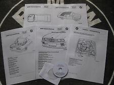 BMW E30 Cabrio 5 + 1 Einbauanleitungen (EM-Verdeck/Hardtop/SWRA/Klima/Tempomat)