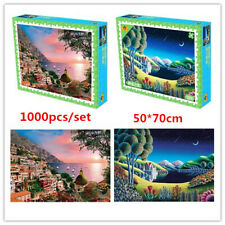 1000pcs Jigsaw Puzzles Scenery Puzzle  Pressure Relief Educational Puzzle Toys