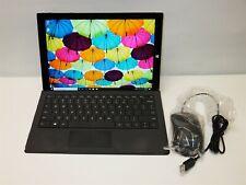 Microsoft Surface Pro 3 Tablet 4GB i5 @ 1.90GHz 128GB SSD Windows 10 Model 1610