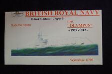 HP models brit. u-Boot de la o-clase 2. grupo HMS Olympus -1929/42 - 1:700 resin