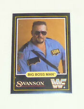 WWF card Big Boss Man swanson 1991