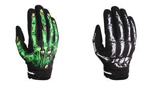Fishing Gloves Warm Waterproof Durable Anti Slip Full Finger Elastic Glove Green