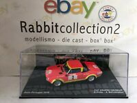 "DIE CAST "" FIAT ABARTH 124 RALLY RALLY PORTUGAL 1974 R. PINTO "" SCALA 1/43"