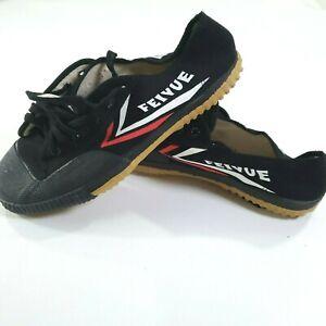 Feivue Black Martial Arts Parkour Shoes Sneakers Size EUR 43 US 10 Mens