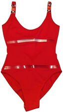*PACO RABANNE* Couture Cutout Swimsuit Bodysuit Low Sexy Back FR 36