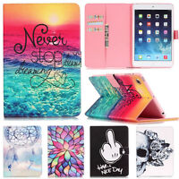 Ultra Slim Stand Flip Magnetic Leather Cover Case For i Pad 2 3 4 5 Mini 2 Folio