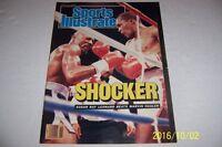 1987 Sports Illustrated SUGAR RAY LEONARD vs MARVIN HAGLER No Label SHOCKER N/L