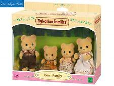 Sylvanian Families 5059 Bären Familie Pelzig Eltern Kinder Epoch Neu OVP