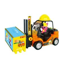 Pinkfong Heavy Vehicle Equipment Fork Lift Truck Toy Baby Kids