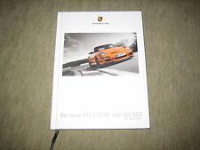 PORSCHE 911 gt3 gt3 RS (997) prospetto brochure di 7/2006, 116 pagine