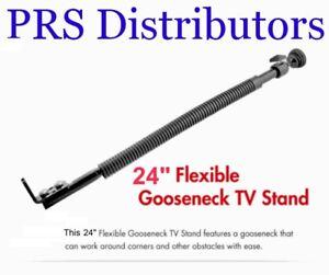 "Gooseneck Mobile TV Stand 24"" Flexible GOOSENECK STAND for TV Camera CCTV Boat"