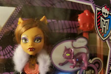 MH Monster high doll Original 1st wave Clawdeen Wolf with pet New in Box