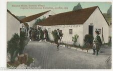 Imperial International Exhibition, Haunted House Scottish Village Postcard, B486