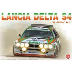 NuNu 24005 1/24 Lancia Delta S4 Toptip Rally Sanremo 1986