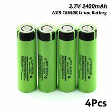 US STOCK Panasonic 18650battery NCR18650B Li-Ion Rechargeable Battery - 3400mAh