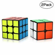 Rubiks Cube Speed Cube 3x3 2x2 Set Magic Cube Smooth Puzzle Cube Toy Gift 2Pcs
