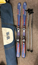 Blizzard Firebird XO Skis, 150cm Long, Bindings And Poles, Free P&P