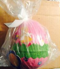 """9"""" MUFFY VANDERBEAR PAPER EGG #5286 SPRING CHICKEN COLLECTION ORIGINAL PACKAGE"""