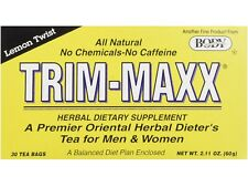 BODY BREAKTHROUGH TRIM-MAXX TEA LEMON Trim-maxx Dieter's tea 30 tea Bags