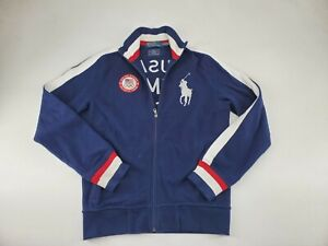 Official Polo Ralph Lauren USA Olympic Team Outfitter Track Jacket Men Size S