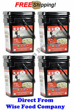 NEW..!! 4 Wise Food Company 7 Day 52 Servings Family Of 4 Emergency Food Supply
