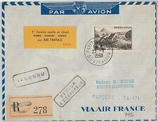 France Cover Aviation Postal Stamps