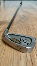 Ping i3 O-Size Silver Dot 3 iron Graphite S