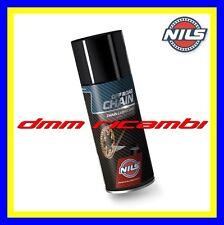 Lubrificante sintetico Catena NILS Chain Lube Off Road grasso spray olio 400ml.