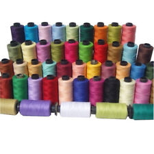 Sewing Thread Silk for embroidery Assorted Colors gitti Lot Of 50 Spools