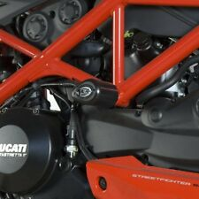 Ducati Streetfighter 848 2014 R&G Racing Aero Crash Protectors CP0310BL Black