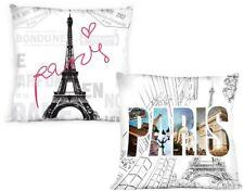 Kissenbezug Kissenhülle City 002 Paris 40x40 Cm zweiseitig