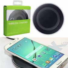 Apple iPhone 8 X Samsung Galaxy Qi Receiver Back Cover Wireless Charger Black