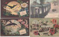 MARSEILLE (DEP 13) France SOUVENIR DE BONJOUR DE 129 Postcards pre-1940