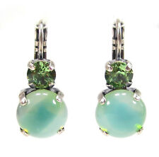 SoHo® Ohrringe Ohrhänger Kristalle peridot bohemia Glas 1960 sabrina grün Strass